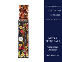 Load image into Gallery viewer, Nuts & Seeds Bar - Cranberry & Almond