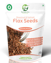 Load image into Gallery viewer, Roasted Salted Flax Seeds
