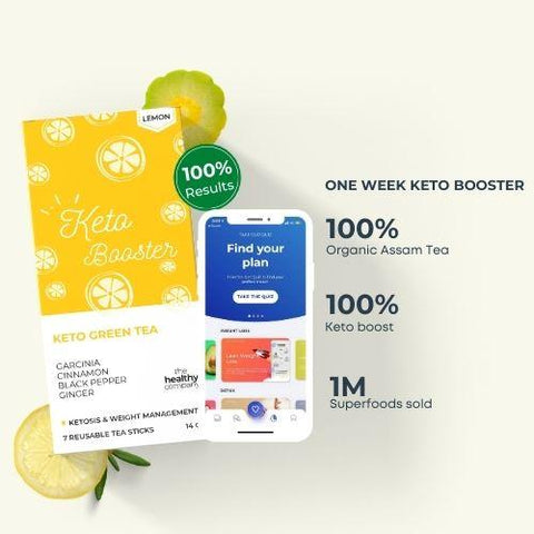 Natural keto Booster Green Tea Sticks (Box of 2) - (1 Week Trial) (Buy 1 Get 1)