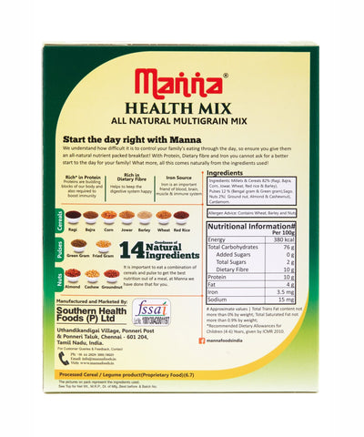 Manna Health Mix (All Natural Multigrain Mix)