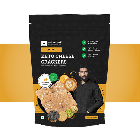 Keto Cheese Crackers - Ultra Low Carb & Gluten Free