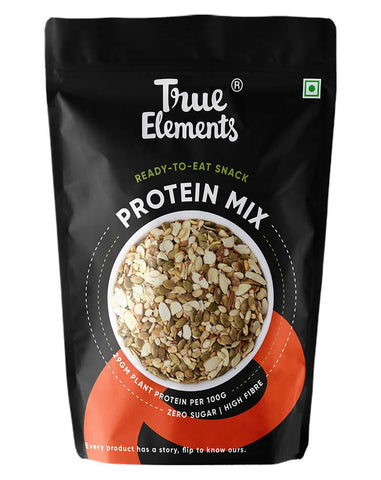 True Elements Protein Mix (Roasted Pumpkin Watermelon Almonds and SOYA Nuts, Veg Protein Seeds )