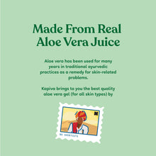 Load image into Gallery viewer, Kapiva Aloe Vera Juice 1 L + Kapiva Aloe Vera Skin Gel 500 GM
