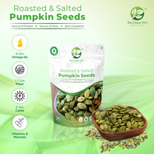 Load image into Gallery viewer, Roasted & Salted Pumpkin Seeds