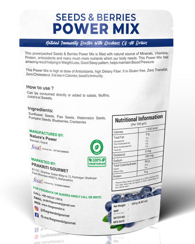 Berries Seeds Power Mix