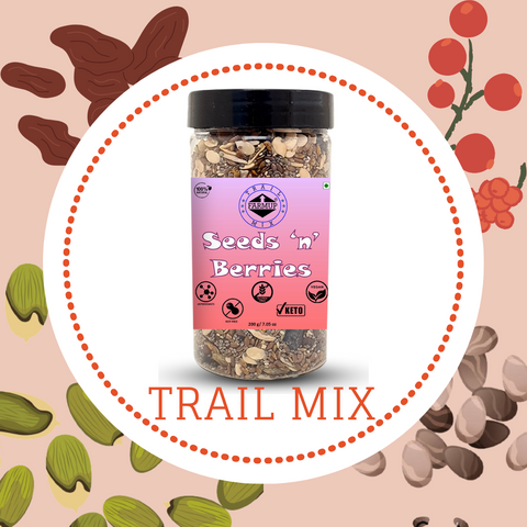 Seeds and Berries Trail Mix