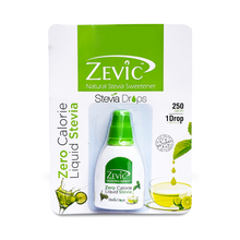 Load image into Gallery viewer, Zevic Stevia Zero Calorie Liquid (250 Drops)