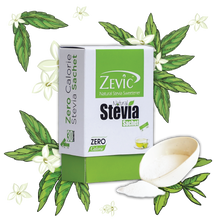 Load image into Gallery viewer, Zevic Stevia Zero Calorie Sachets