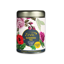 Load image into Gallery viewer, Zevic Ayurvedic Slimming Tea - 20 Pyramid Tea Bags (Sweetened with Stevia)