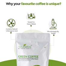 Load image into Gallery viewer, Neuherbs Green Coffee Beans- Natural Immunity Booster And Weight Loss Partner