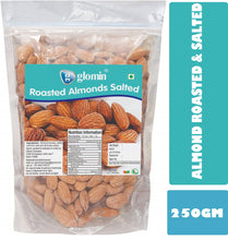 Load image into Gallery viewer, Glomin Almonds Roasted & Salted