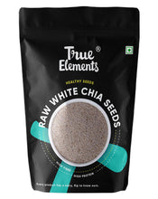 Load image into Gallery viewer, True Elements Raw White Chia Seeds 500gm
