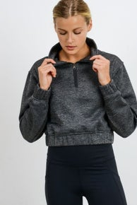 Whitney Cropped Pullover by Mono B