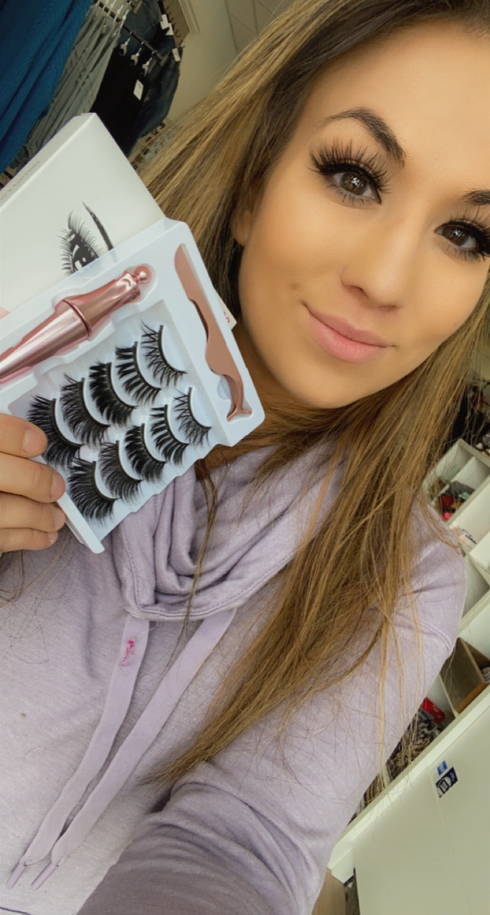 Magnetic Lashes (Set of 5, two different styles)