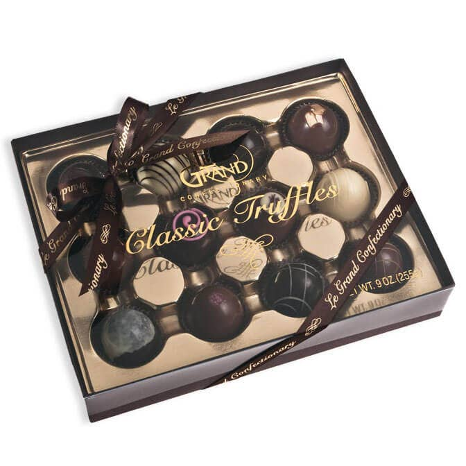 12 Piece Petite Truffle Box Collection