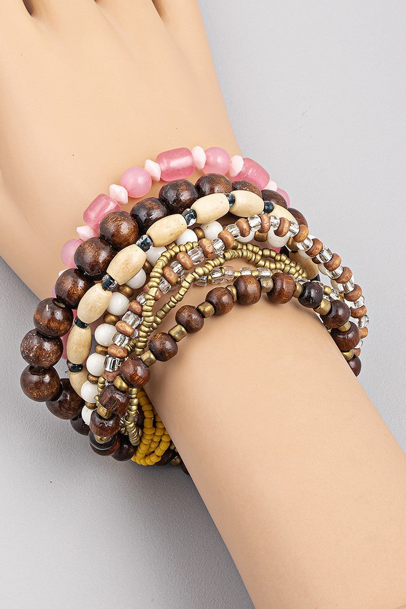 Stretch Bracelet set of 9