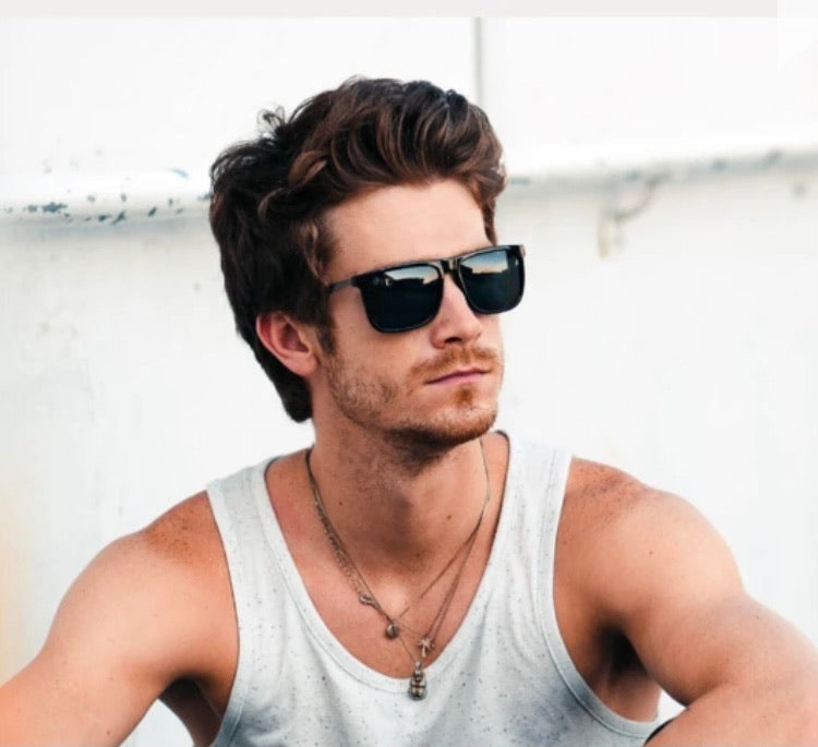 Jacob Polarized Matte Frame Sunglasses