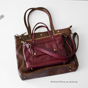 Archive Mini in Rose Cloud/ Leopard/ Chestnut/ Dark Roast, RTS
