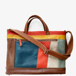 Load image into Gallery viewer, Archive Tote in Retro Patchwork, RTS