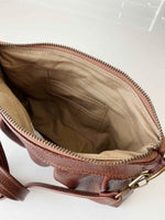 Load image into Gallery viewer, Ruche Clutch in Chestnut