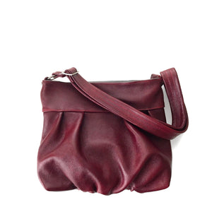 Ruche Mini Hobo in Crimson Red, RTS