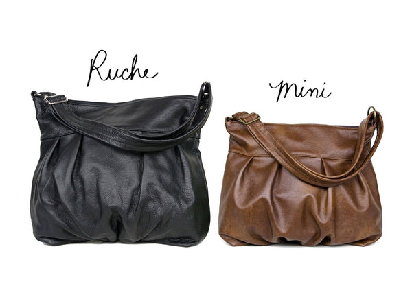 Ruche Mini Hobo in Chestnut
