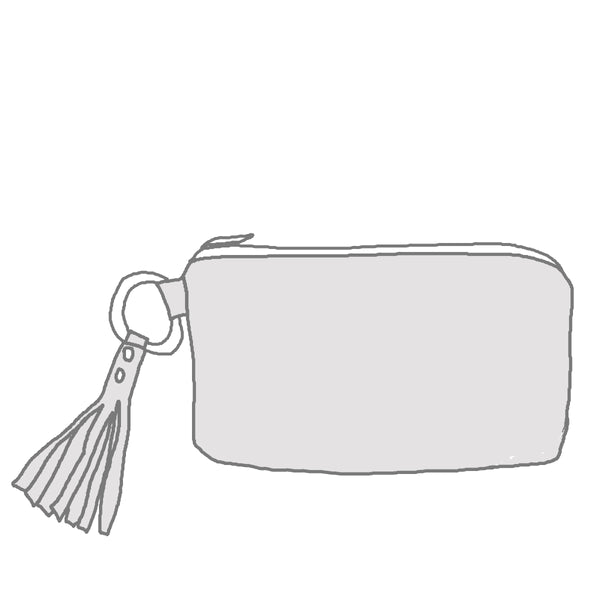 Custom Tassel Clutch