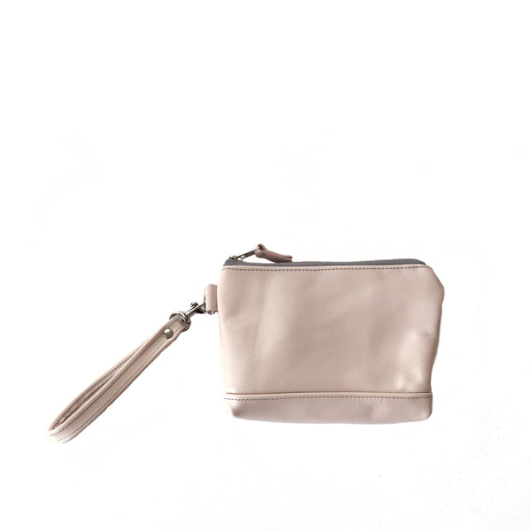 Wristlet in Peony Pink, RTS