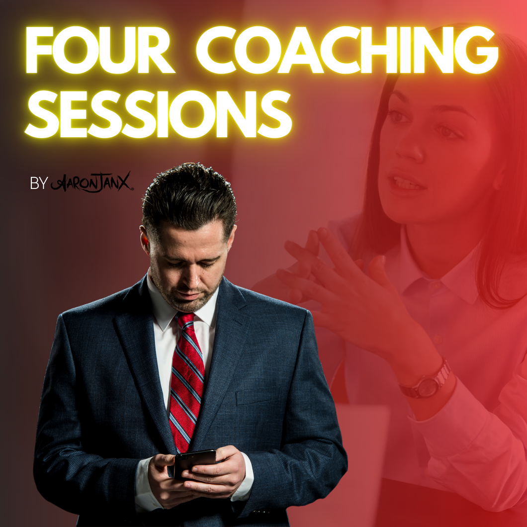 4 Coaching Sessions with Aaron Janx