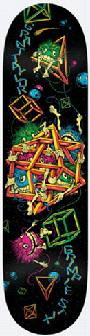 ANTI-HERO GRIMPLE STIX TAYLOR INTERSTELLAR DECK 8.50