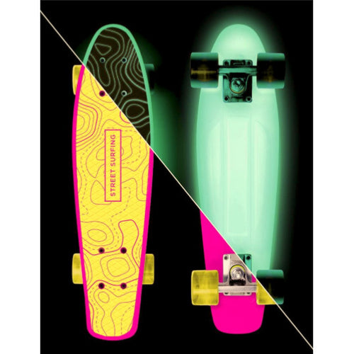 Street Surfing Plastic Cruiser Beach Board