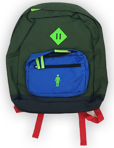 GIRL SCHOOLYARD BACKPACK