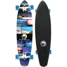 "Load image into Gallery viewer, Paradise Longboard 40"" Kicktail Island Life"