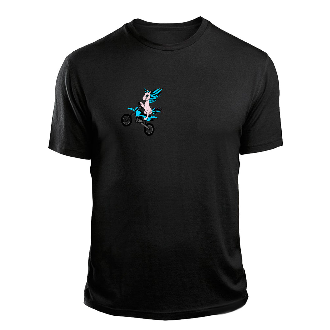Men's Unicorn Dirt Bike T-Shirt