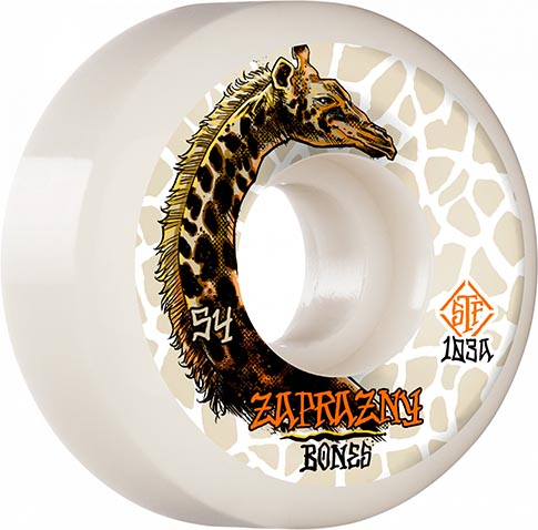 Bones Wheels Pro STF Zaprazny Giraffe II 52MM V5 103A (Set of 4)