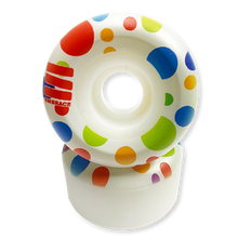"Load image into Gallery viewer, Embrace Wheels 80's ""Polka Dot"" Conical 53MM 100A - 4pk"