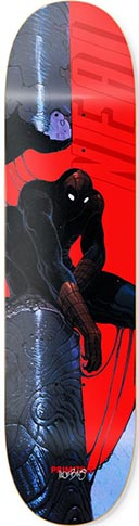 PRIMITIVE NEAL SPIDERMAN DECK 8.00