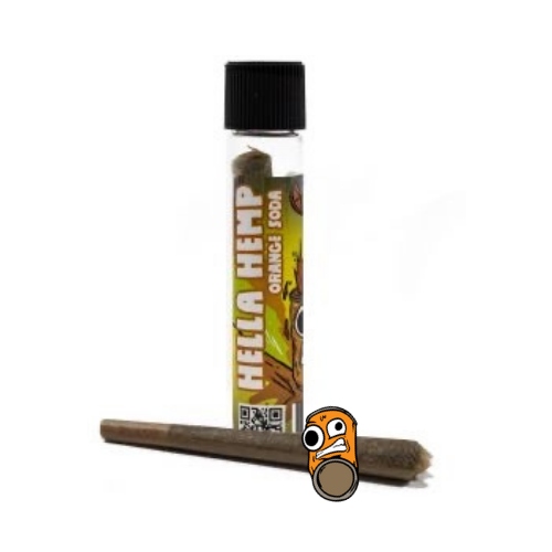 CBD Orange Soda