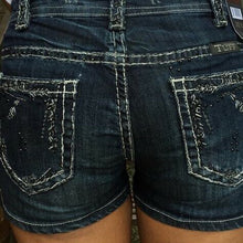 Load image into Gallery viewer, Cowgirl Tuff Junkyard Bling Shorts