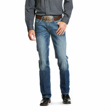 Load image into Gallery viewer, Ariat Men's Relentless Original Fit Low Rise Slim Stackable Straight Leg Jeans