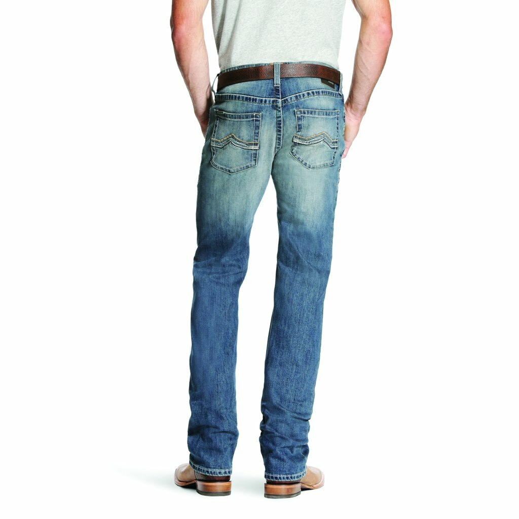 Ariat Men's M5 Low Rise Straight Leg Western Jeans