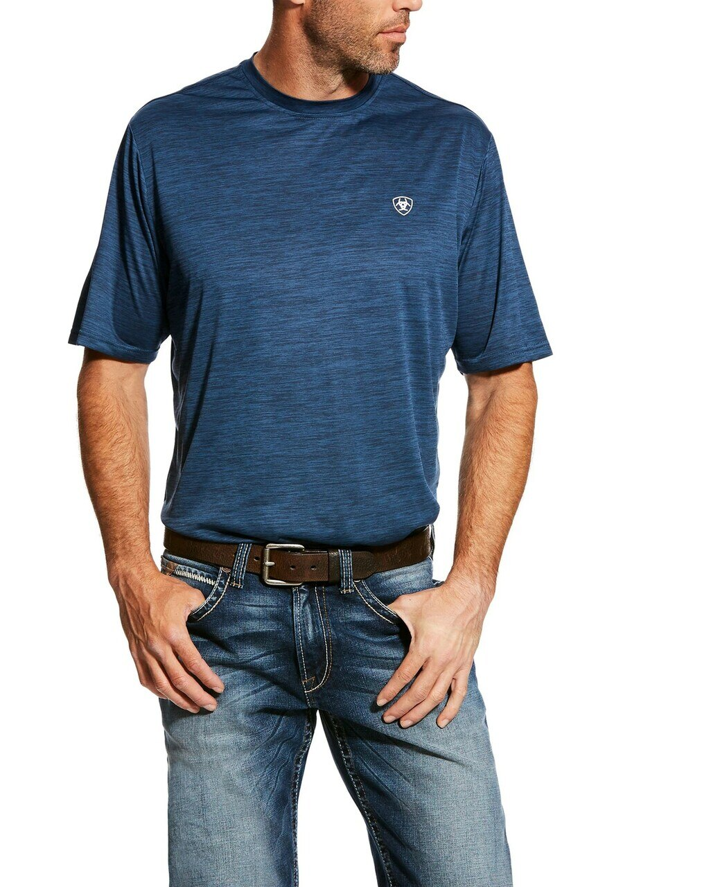 Ariat Men's Heat Series Navy TEK AC Shirt