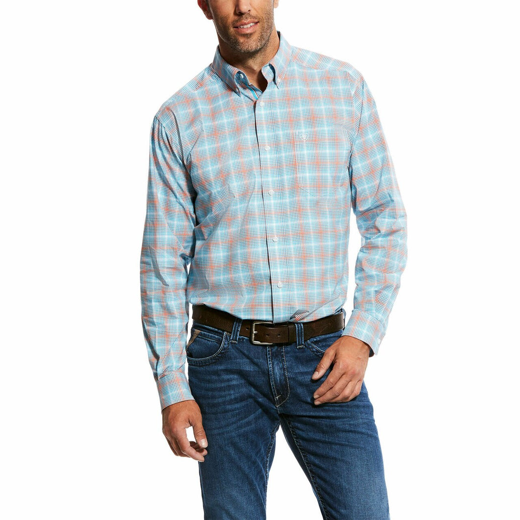 Ariat Men's Naragon Stretch Performance Fitted Western Shirt