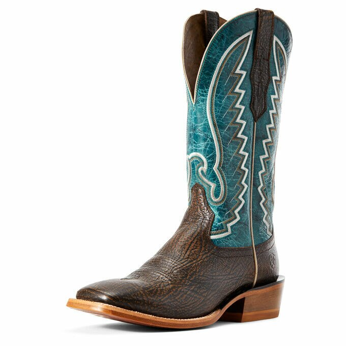 Ariat Men's Blue Top Station Square Toe Western Boots