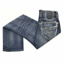 Load image into Gallery viewer, Rock Revival Men's Nathan Straight Jeans