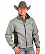Panhandle Men's Tuf Cooper Bonded Herringbone Soft Shell Performance Jacket