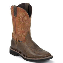Load image into Gallery viewer, Justin Men's Rugged Stampede Comp Toe Work Boots (Free Shipping)