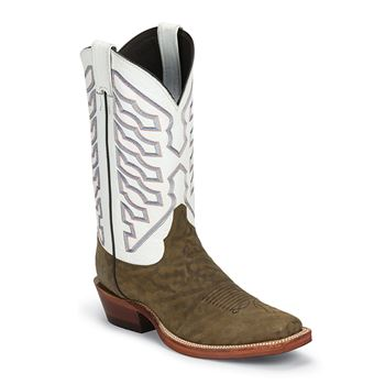 Justin Men's Bent Rail Valley Square Toe Western Boots (Free Shipping)