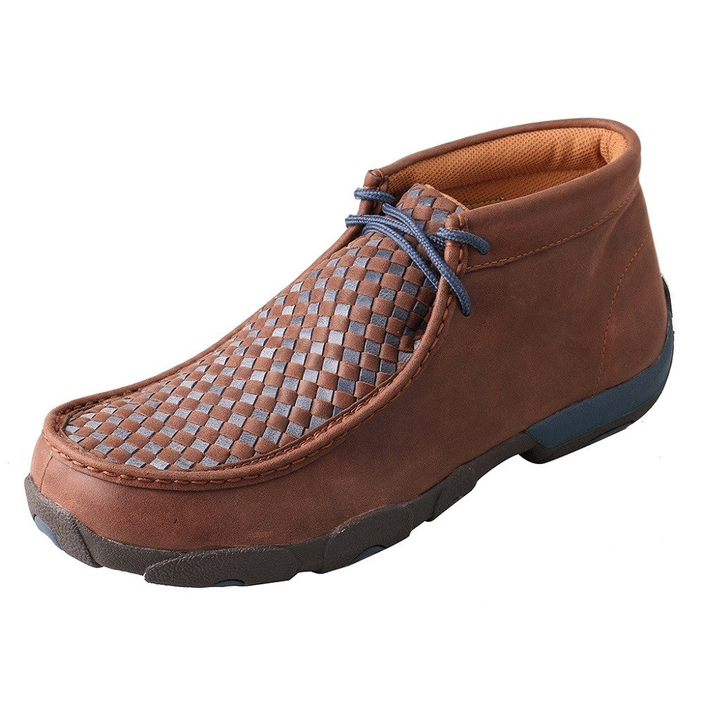 Twisted X Men's Casual Brown/Blue Check Casual Shoes