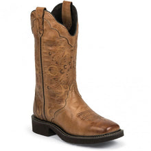 "Load image into Gallery viewer, Justin Women's Caramel Brown 12"" Boot"